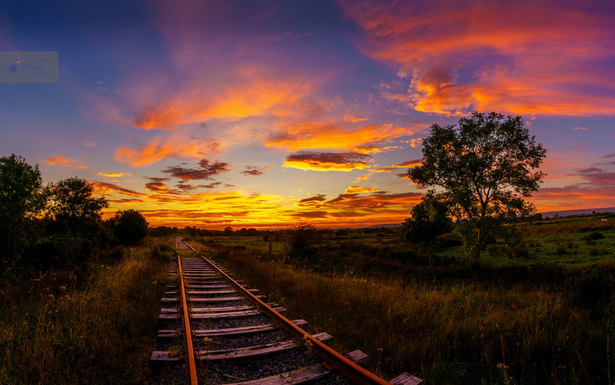 Sunset-at-the-Railway